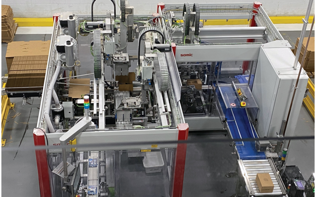 SOMIC America and Ferrara Candy Co. featured in Packaging World magazine